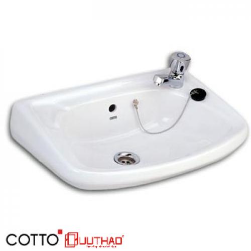 CHẬU RỬA COTTO TREO TƯỜNG C002