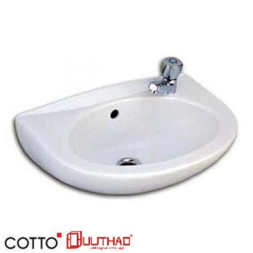 CHẬU RỬA COTTO TREO TƯỜNG C005