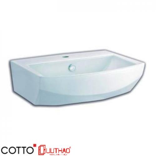 CHẬU RỬA LAVABO COTTO TREO TƯỜNG C01517