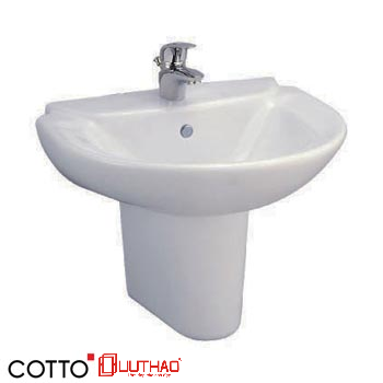 CHẬU RỬA CHÂN NGẮN COTTO C0237/C4201