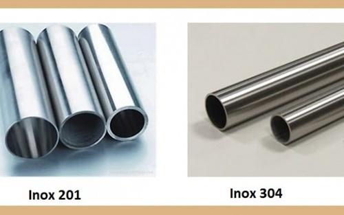 Cách PHÂN BIỆT INOX 201 và INOX 304.
